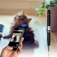 China 720P HD WIFI P2P Pen Spy Hidden Camera Covert Video Streaming Recorder Home Security Nanny Camera Remote Baby Monitor wholesale