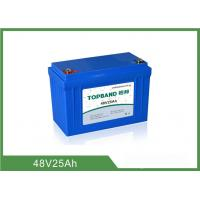 China 12.2KG Lithium Iron Phosphate Deep Cycle Battery Low Self - Discharge Rate 48V 25Ah wholesale