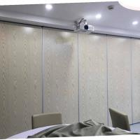 China Office Sliding Movable Partition Walls Melamine MDF Surface Sound Insulation on sale