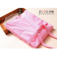 China Colorful Hotel Style Bathrobes For Women OEM / ODM Acceptable 700g wholesale