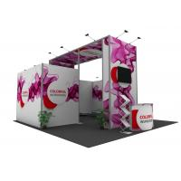 China Exhibition Trade Booth Displays , Light Weight Conference Display Booths wholesale
