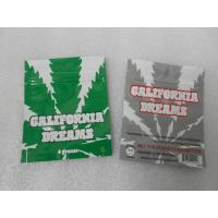 China California Dream Herbal Incens Bag / Mylar Zipper Research Chemcial Pill Sachet wholesale