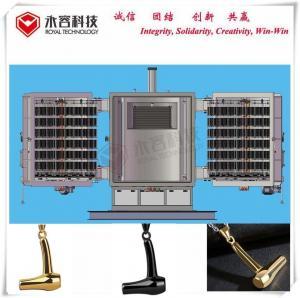 China Hair Dryer Barber Necklace Jewelry Vacuum Metalizing Machine Aluminum Evaporation Coating on sale