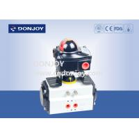 China Intelligent Aluminum actuator with Control Box,  horizontal type actuator for valves wholesale