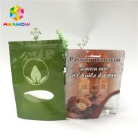 China Resealable Custom Printed Stand Up Pouches Aluminum Foil Zip Lock Plastic Bag wholesale