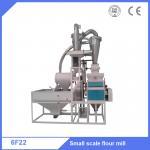 China 6F2250 capacity 500kg/h wheat grain flour milling machine with low power consumption wholesale
