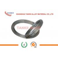 China Round Wire Fecral Alloy Resistance Heating Flat Wire With ISO9001 Certificate wholesale