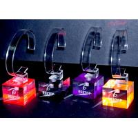 China Colorful Custom Watch Acrylic Display Holders Solid For Showing Watch wholesale