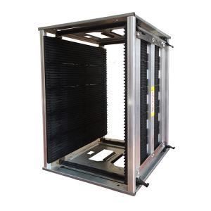 China Antistatic 200kg 50pcs PCB Slots ESD Magazine Rack wholesale