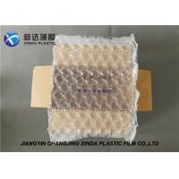 China 20 Mic Thickness Air Bubble Wraps Packaging Plastic Film For Art Objects wholesale