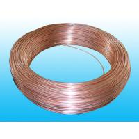 China Copper Coated Double Wall Bundy Tube 6 * 0.7 mm For Brake , Freezer wholesale