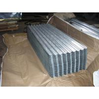 China SGCH , SGCC, G550, JIS G3302 steel spangle Galvanized Corrugated Roofing Sheet / Sheets wholesale