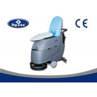 China Dycon Red  Commercial Hand Pushed  Charge Floor Scrubbr Dryer Machine With Linatex Rubber Blade wholesale