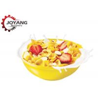 China Cereal Corn Flakes Puffed Corn Snack Making Machine Breakfast Cereals Production wholesale