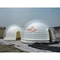 Quality 5m Diameter Clear Airtight Inflatable Dome Tent for exibition for sale