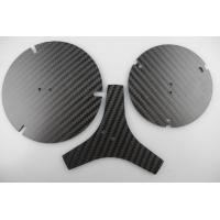 China Customized Carbon Fiber CNC Service , Carbon Fiber Plate For Blind Groove Machining on sale