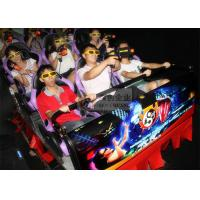 Buy cheap Hydraulic 7D Cinema System , 9 Individual Motion Chair with Special Effects from wholesalers