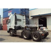 China 6x4 Tractor Unit / Tractor Trailer Truck With Powerful Engine 420hp And 2x16t Rear Axles wholesale
