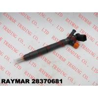 Buy cheap DELPHI Genuine common rail fuel injector 28370681, 28565330 for VW 04B130277D, 04L130277D from wholesalers