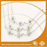 China Promotional Unique Custom Metal Chain Bracelets In Gold / Silver wholesale