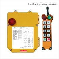 China F21-8D YUDING TELECRANE Industrial Radio Wireless Remote Controls For Overhead Cranes wholesale