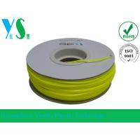 China ABS 3D Printer Filament 1.75mm with Yellow Color For Paper Spool wholesale