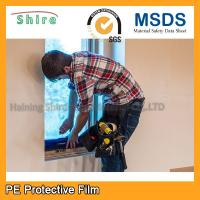 China Durable PE Glass Protective Film For Window Construction Environmentally wholesale