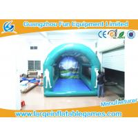 China Golf Cage Inflatable Goal Post Interactive Sport Inflatable Games For Events wholesale