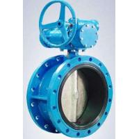 China Flanged Resilient Sealing Stainless Steel / Ductile Iron Butterfly Valve 1.0MPa / 1.6MPa wholesale