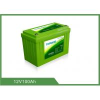 China Durable Lithium Battery 12v 100ah , Lifepo4 Rechargeable Battery High Security RV Car wholesale