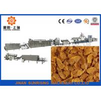 China Breakfast cereal puffing corn flake production line wholesale