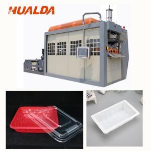 China Fast Food Plastic Bowl Making Machine Forming / Punching / Blanking At Same Time wholesale
