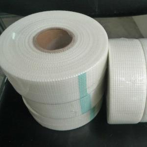 China Self Adhesive 8 X 8 65g/M2 Fiberglass Drywall Joint Tape wholesale