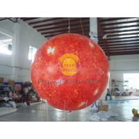 China 2.5m helium PVC Fireproof with B1 Certificate and Waterproof Sun Earth Balloons Globe with Total Digital Printing wholesale