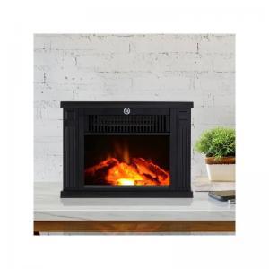 China desktop fireplace burning log flame fire  stove  EF480 MINI  ROOM Heater BLACK CAST cheap wholesale
