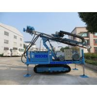 Quality Hydraulic Crawler Mounted Drilling Rig For Horizontal And Vertical Geotechnical Drilling for sale