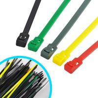 China Multi Colored Commercial Electric Cable Ties , Weather Resistant Nylon Wire Ties wholesale