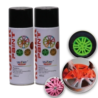 China 400ML Acrylic Rubber Spray Paint Exterior Red Dip Wheel Paint wholesale