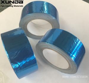 China Blue Aluminium Lamination Butyl Flashing Tape For Construction 50mm-800mm Width wholesale