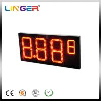 China Professional Electronic Oil Station Led Display Board Price With RF Controller wholesale