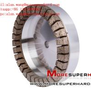 Quality 6A2 Metal Bond Diamond Cup Wheel for Straight Edge Machine alan.wang@moresuperhard.com for sale