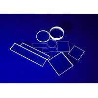 Buy cheap Commercial Quartz Glass Sheet , Fused Glass Plates Ground Polished Heat from wholesalers