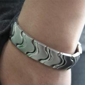 China Fashion negative ion energy bracelet, titanium germanium energy bracelet wholesale