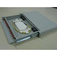 China Fiber Optic Patch Panel- Rack Mount- 12 ports- 1U wholesale
