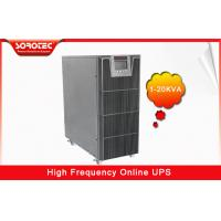 China PF 0.9 1-20KVA High Frequency Online UPS , black uninterruptible power supplies wholesale