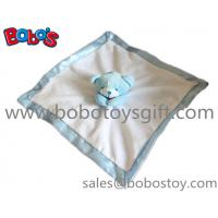 China China Made Softest Blue Bear Baby Comforter Blanket In Wholesale Price wholesale