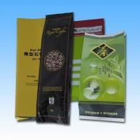China Aluminum Foil Side Gusset Quad Seal Packaging , Coffee / Tea Pacakging Bag wholesale