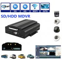 China 4Ch SD / HDD 3G Mobile DVR Security Camera System Support Real Time Recording wholesale