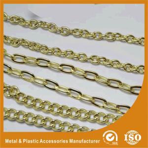 China High End Zinc Alloy Handbag Metal Chain Fashion Jewelry Chain wholesale