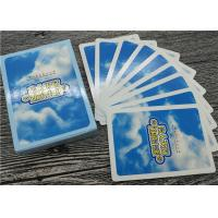 China Advertising Custom Printed Playing Cards , OEM Logo Personalised Pack of Cards on sale